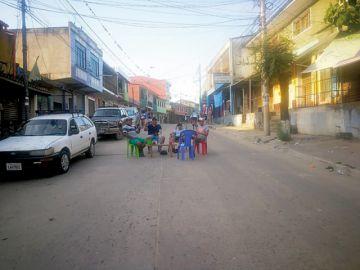 Monteagudo cumple dos días de paro