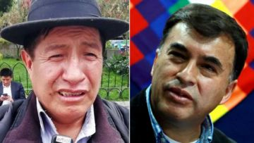"Rafael Quispe a Quintana: ""Yo seré el Rambo de la democracia"""