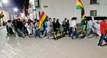 Protestas en el área urbana de Camargo