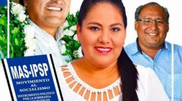 Identifican a diputada electa por el MAS como autora intelectual de muertes en Montero