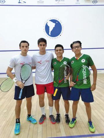 Bolivia jugará por el oro en torneo de Squash