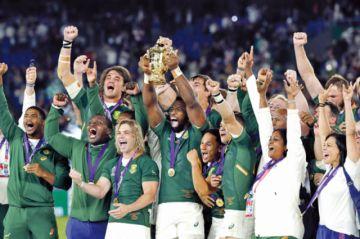 Rugby: Sudáfrica se corona tricampeón en Yokohama