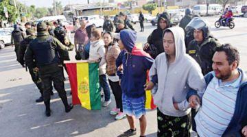 Las manifestaciones no cesan en el país
