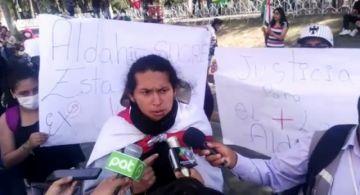 """Protestan por detención de universitario y la califican de """"política"""""""