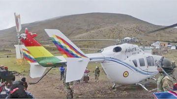 Investigarán accidente del helicóptero de Evo