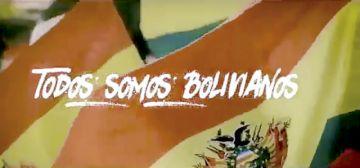 """Huáscar Aparicio Jr. lanza """"Todos somos bolivianos"""""""