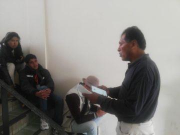 Padre de Aldahir pide ayuda para trasladar a su hijo a Sucre