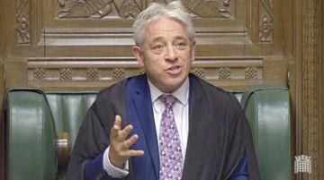 Cambian al líder de Cámara Baja en Reino Unido
