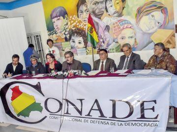 Conade pide al Gobierno que garantice la vida de Camacho