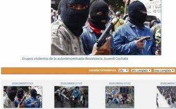 ABI y radio Patria Nueva publican fotos de paramilitares venezolanos afirmando que son jóvenes de Cochabamba