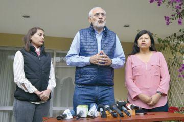 Gobierno promueve racismo pero habla de paz, dice Mesa