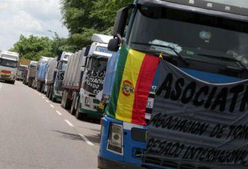 Transporte pesado cerrará todas las fronteras hasta mañana