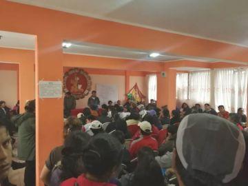 Maestros urbanos de Chuquisaca viajarán a La Paz a reforzar las movilizaciones