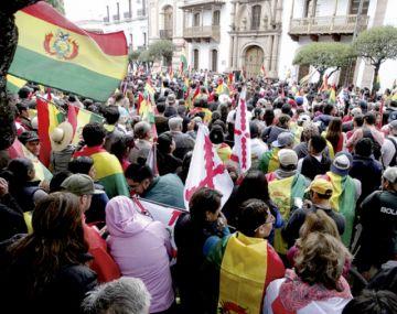 Chuquisaqueños apuntan a unidad de los bolivianos