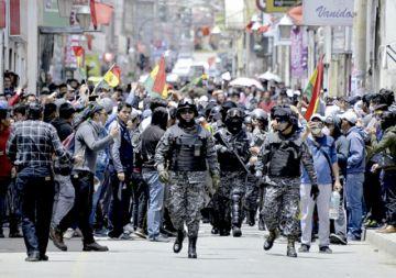 Tensión en Oruro y Beni