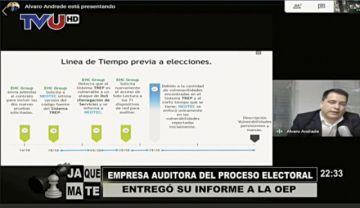 Auditora: Las elecciones están viciadas de nulidad