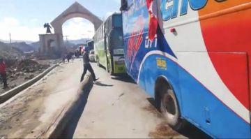Potosinos viajan a La Paz para reforzar las movilizaciones