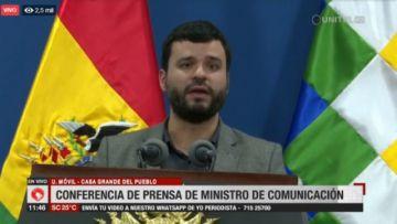 """Canelas acusa a Camacho de estar en """"carrera electoral acelerada"""""""
