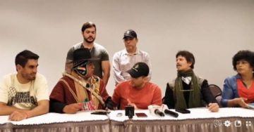 Camacho y dirigente campesino sellan acuerdo de paz