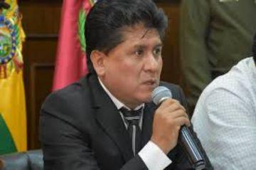 Gobierno Municipal de Oruro informa la renuncia del alcalde Aguilar