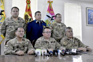 FFAA no se enfrentarán con el pueblo: Kaliman