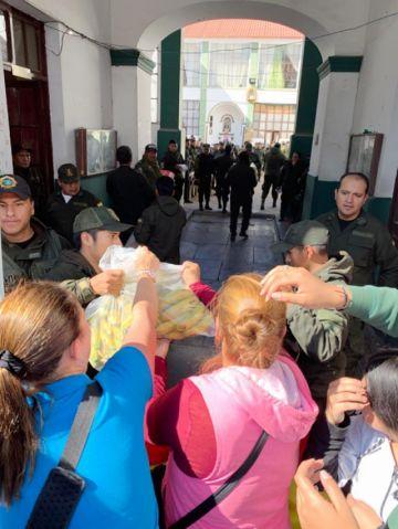 La Policía en Chuquisaca mantiene amotinamiento