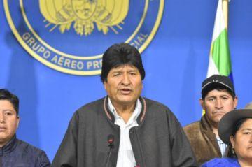 Evo Morales llama a nuevas elecciones
