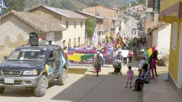 Hubo marchas en el Chaco y los Cintis