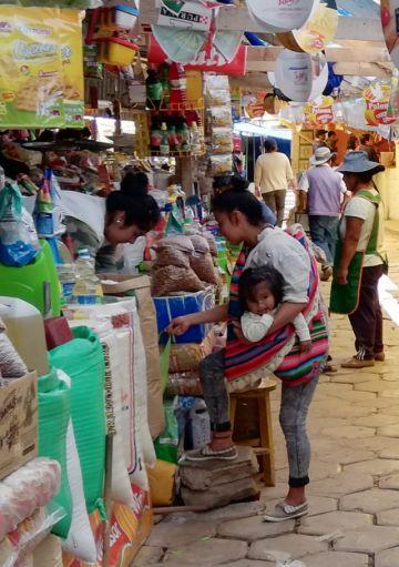 Mercados suministran de alimentos a Sucre
