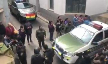 Policía de Potosí viaja a Oruro para resguardar a mineros