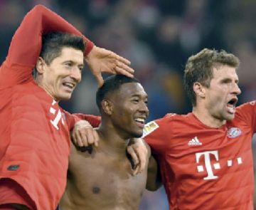 El clásico fue para el Bayern
