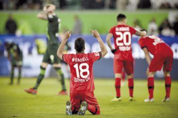 El Leverkusen recupera terreno en la Bundes Liga