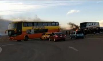 La caravana ya se encuentra en Oruro; retornó por seguridad