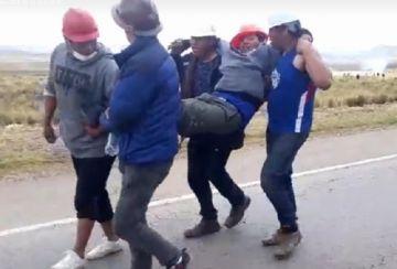 La caravana rumbo a La Paz ya pasó Panduro