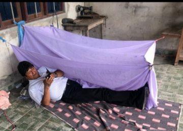 Evo muestra cómo pasó su primera noche en Chapare