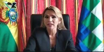 Añez llama a legisladores a concurrir a histórica sesión