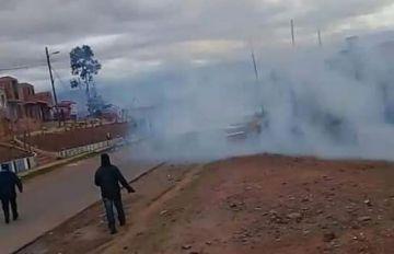 Reportan enfrentamientos en Betanzos