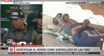 Identifican a guerrillero de las FARC en enfrentamientos en Yapacaní