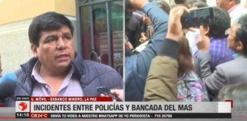 """Omar Aguilar a la presidenta: """"Si su intención es cerrar el Parlamento que lo diga"""""""