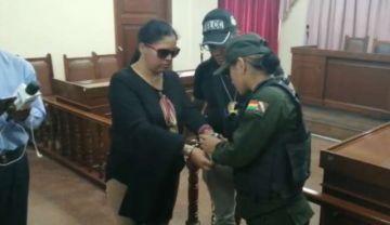 Vocales del TED Cochabamba pasan a la cárcel