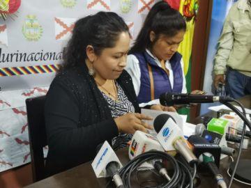 Senadora del MAS pide juicio de responsabilidades contra los magistrados del TCP