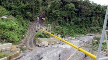 El gasoducto que abastece a tres departamentos deja de operar