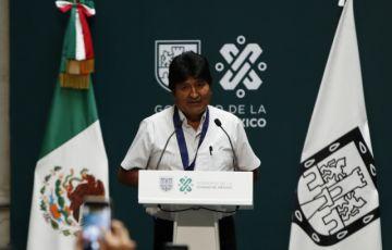 Evo recibe visa humanitaria del gobierno de México