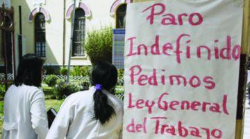 Médicos suspenden su paro y reanudan los servicios médicos en todo el país