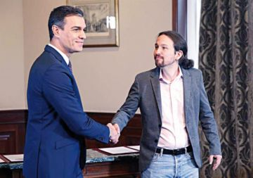 La izquierda española se une y alcanza un acuerdo