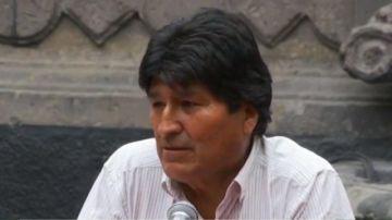 """Evo Morales: """"Si mi pueblo pide, estamos dispuestos a volver"""""""