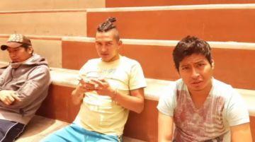Potosinos acogen a jóvenes de Sucre