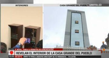 Lizárraga: El anterior gobierno desmanteló los pisos 23 y 24 de la Casa Grande del Pueblo