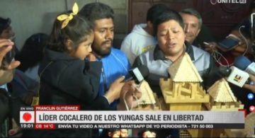 Franclin Gutiérrez deja la cárcel y se reencuentra con su familia