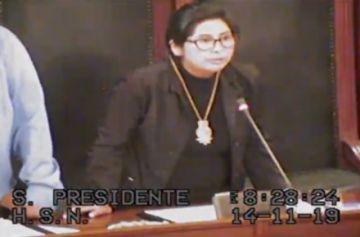 EN DIRECTO: Eva Copa es elegida como nueva presidenta del Senado